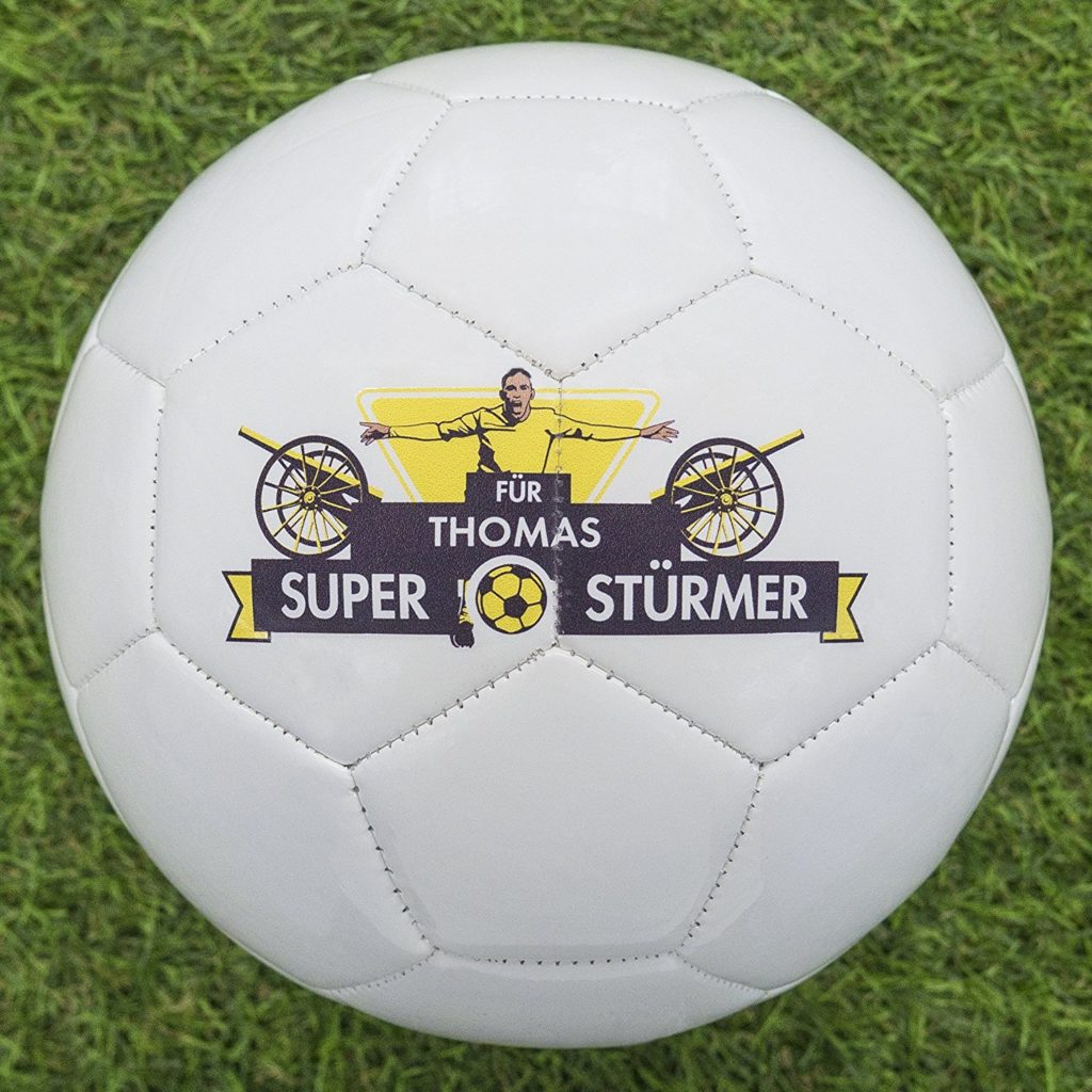 fussball bedrucken